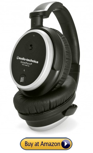 Audio-Technica ATH-ANC7B best noise cancelling headphones